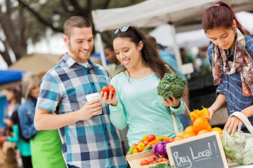 houston restaurants and farmers markets